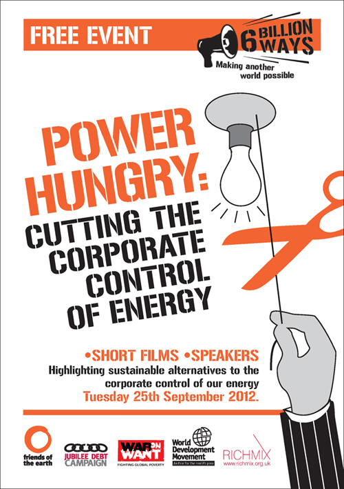Power Hungry flyer